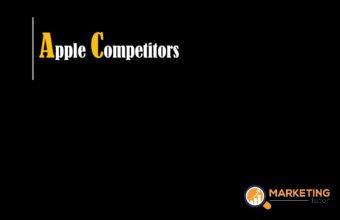 Apple Competitors Analysis