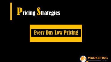 Everyday Low Pricing Strategies